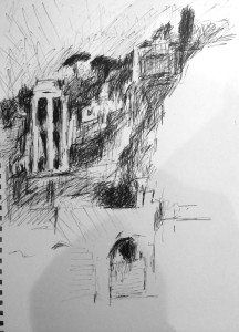 Bessac_creata_information_ROME DAILY SKETCHES Buildings