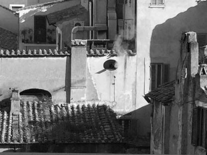Rome outside of my window smoke 17
